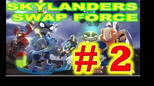Skylanders Swap Force Walkthrough Gameplay Part 2 Youtube