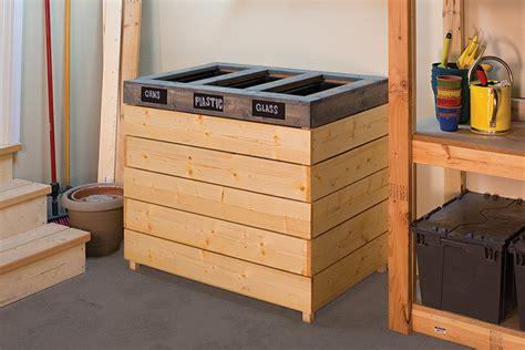 recycling sorting bin buildsomethingcom
