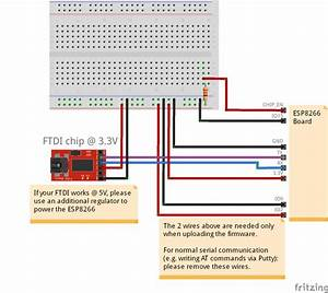 Esp8266 With At Commands  U2013 Flashing  Updating The Firmware