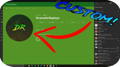 How To Set A Custom Profile Picture On Xbox One Youtube