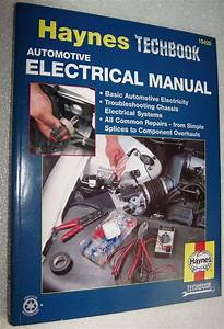 Haynes 10420 Automotive Electrical Repair Manual Techbook