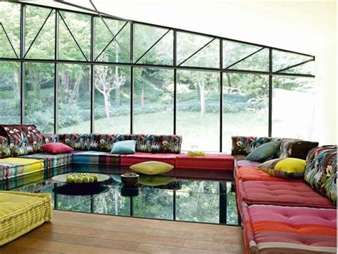 canape rochebobois embellissez l 39 espace maison 50 idées déco salon originales