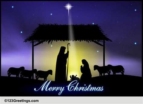 christmas religious blessings cards  christmas