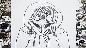Como dibujar a jeff the killer how to draw jeff the killer como desenhar jeff the killer