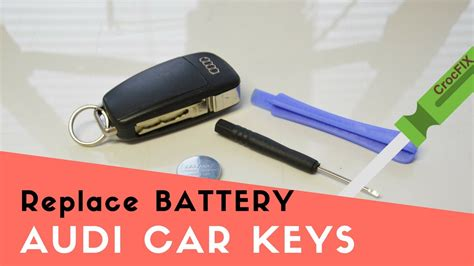 How To Replace Audi Car Key Battery