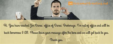 voicemail greeting  real estate agent sample  pantone