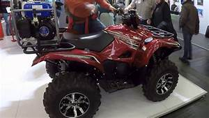 Yamaha Grizzly 700 Eps    Se    Quad  Atv    Red Colour