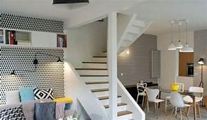 deco salon amenagement salon conseils d39architectes With couleur tendance deco salon 0 1001 conseils et idees pour amenager un salon blanc et beige
