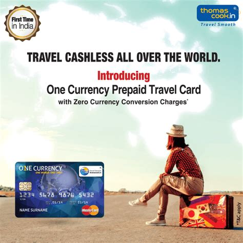 Travel Cashless All Over The World Thomas Cook India