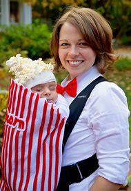 Baby Popcorn Halloween Costume