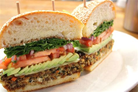 veggie burgers best veggie burgers in los angeles restaurants