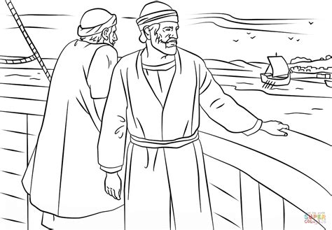 Coloring Timothy And Paul In Lystra Pages Of