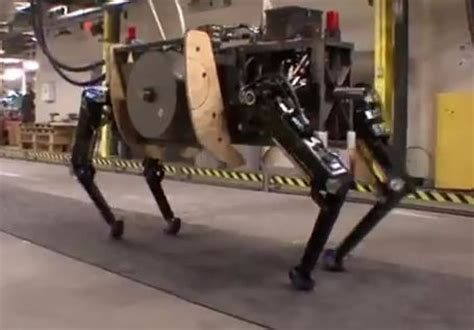 boston dynamics unwraps military robot alphadog  video
