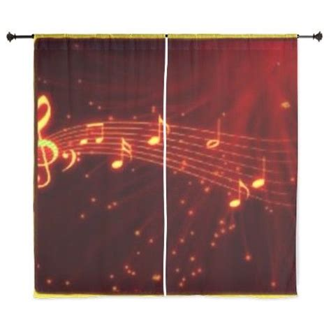 Note Bedroom Curtains notes curtains guitar bedroom
