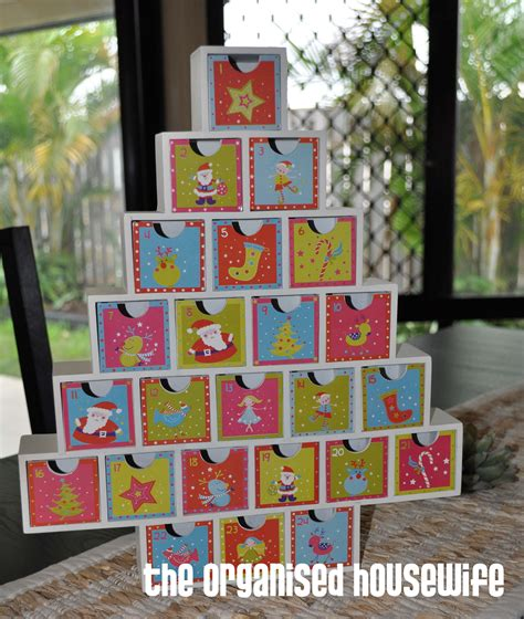 christmas planning gifts to put in an advent calendar or