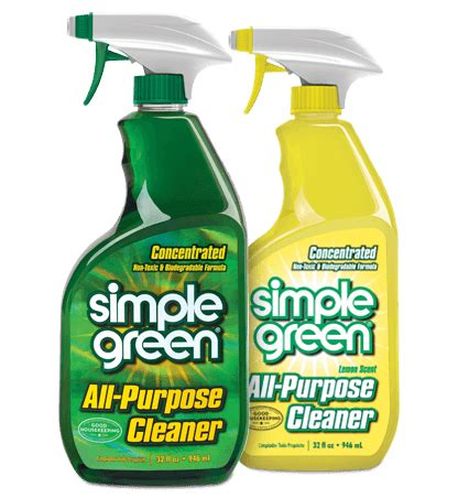 simple cleaning solutions simple green