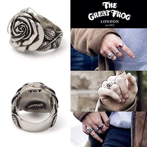 great frog london  rose ring moda