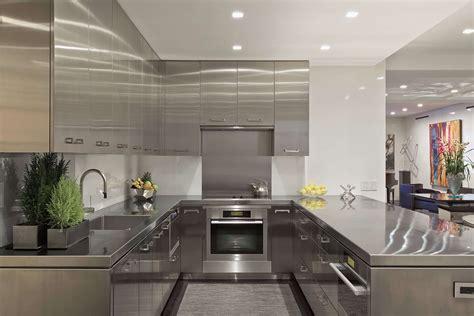 Kitchen Interior Ideas - stainless steel kitchen cabinets steelkitchen