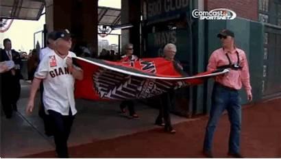Flag Raise Sfgiants Gifpost Mega Giants Walked
