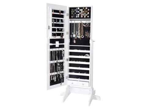 miroir coffre a bijoux miroir coffre 224 bijoux h 145 cm coloris blanc vente de miroir sur pied et psych 233