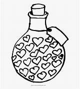 Coloring Potion Line Netclipart sketch template