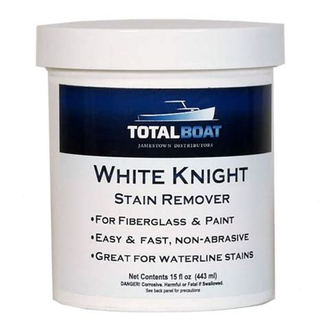 Boat Cleaner Stain Remover by Totalboat White Fiberglass Stain Remover