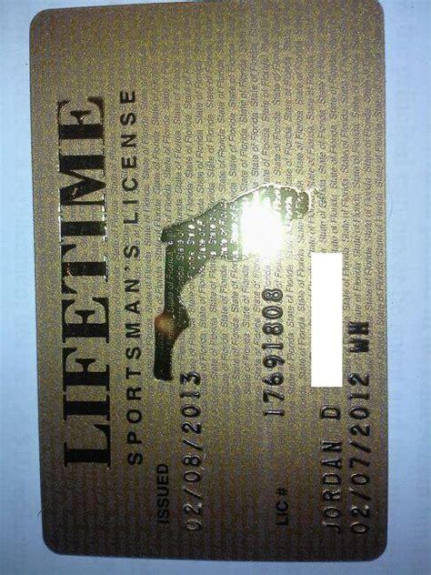 lifetime florida license sportsman fishing 1001 boating