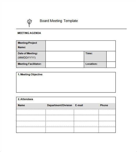 sample minutes  meeting templates