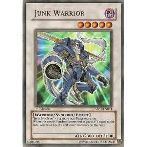 amazon com yugioh 5ds1 en041 junk warrior starter deck