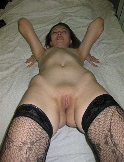 nice milf in stockings shows shaved pussy russian sexy girls