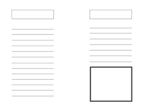 blank fact file booklet template  bamels teaching