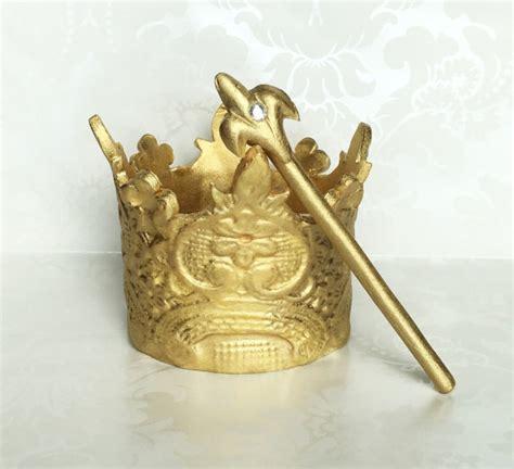 fondant gold crown cake topper prince crown cake topper st