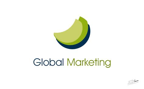 Global Marketing Logo Design