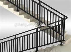 Outdoor Metal Handrails For Stairs by Outdoor Metal Stair Railing Or Removable Aluminum Steel Handrail With Trade