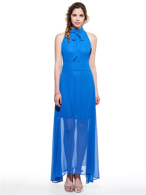 solid color dresses ericdress solid color bowknot sleeveless maxi dress
