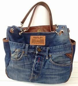 Taschen Beutel Nähen : jeans taschen jeannie pinterest jeans tasche jeans und denim tasche ~ Eleganceandgraceweddings.com Haus und Dekorationen
