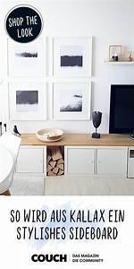 Tv Lowboard Ikea : ikeahack ikea hack 3 kallax wird zum ~ A.2002-acura-tl-radio.info Haus und Dekorationen