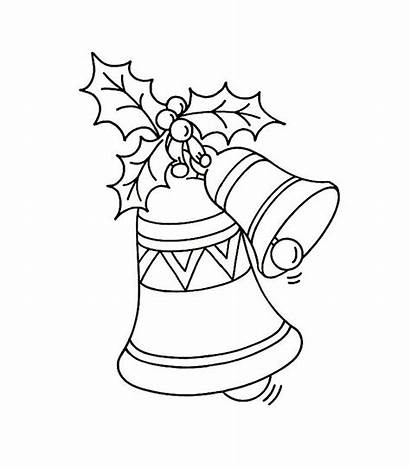 Coloring Pages Christmas Bell Printable Bells Bestcoloringpagesforkids