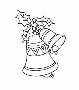 Coloring Bell Printable Bells Bestcoloringpagesforkids Xmas Printables Worksheets sketch template