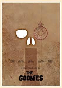 Goonies Minimalist Movie Poster