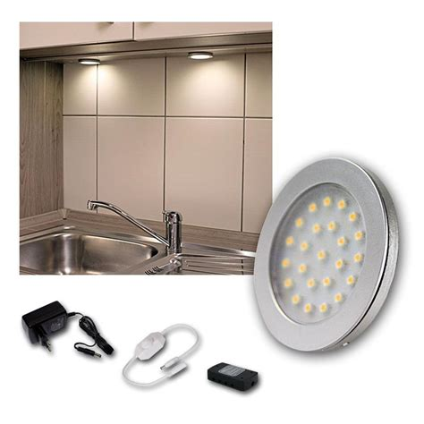 kit set led cabinet lights spotlights kitchen and