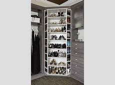 Closet Works 360 Organizer Shoe Spinner Model Rotating