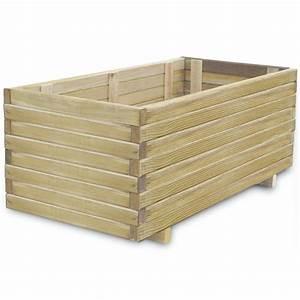 Aufbewahrungsbox 50 X 40 : rektangul r treverk blomsterkasse 100 x 50 x 40 cm ~ Markanthonyermac.com Haus und Dekorationen