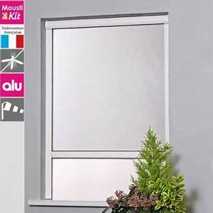 Fenetre Fixe Alu : moustiquaire enroulable moustikit en aluminium pour fen tre ~ Nature-et-papiers.com Idées de Décoration