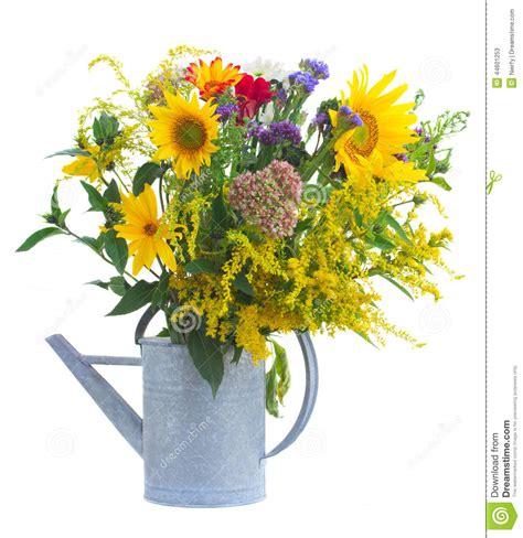 Petit Bouquet Des Fleurs D'automne De Chute Photo Stock