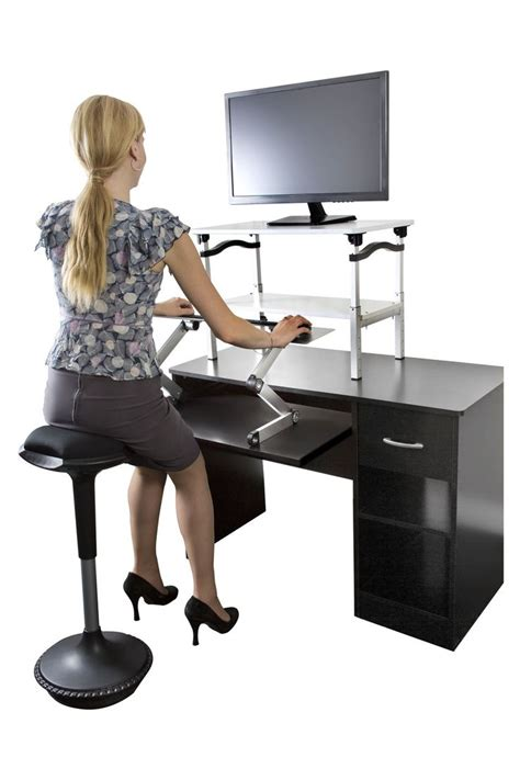 stool for desk 17 best images about adjustable computer keyboard stand on
