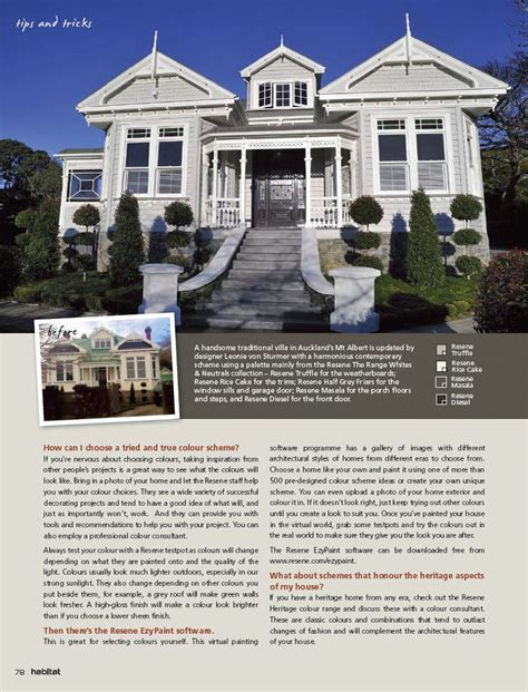 mix and match exterior paint color combinations tips