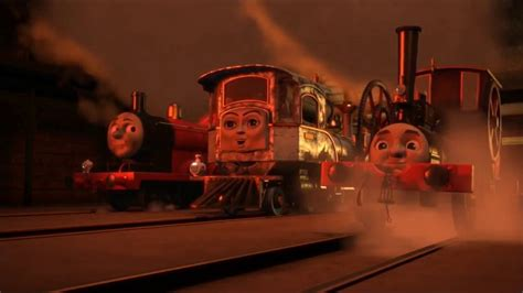 journey  sodor escaping   steelworks