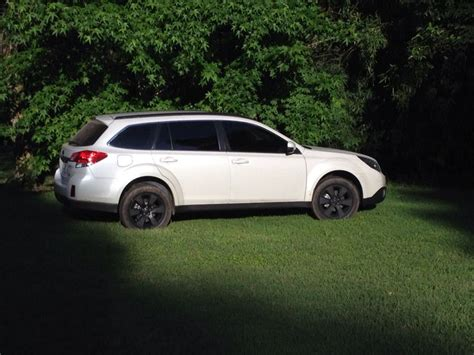 subaru outback rims subaru outback 2012 with very cool black rims painted with