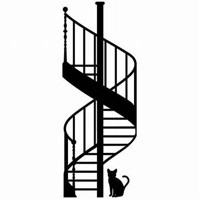 Escalera Caracol Vinilos Stairs Decorativos Adesivi Murali